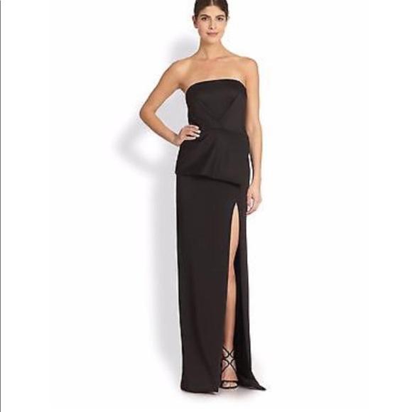 Black Halo Dresses & Skirts - Black Halo Eve long casual maxi gown dress Sz 10